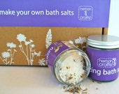 Herban Crafts Make Your Own Fizzing Bath Salt Kit