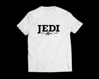T Shirt Adult funny t shirt Jedi Mom funny t shirt tee shirt funny nonsense Star Wars inspired movie Jedi mother Mothers day Mother t shirt