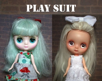 Sewing Pattern and instructions for Middie Blythe dolls.