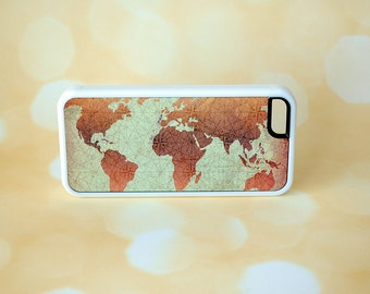 Classic Map Phone Case + iPhone 5 Cover