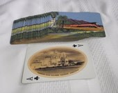 Vintage Railroad Collectable Cards, From the 1950s, Featuring 52 Different Views, Of The Southern States