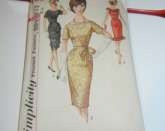 """Simplicity 4650 pattern complete 32"""" bust"""