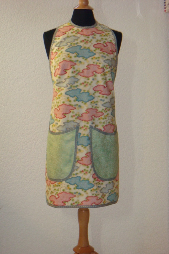 Asian Inspired Halter Style Apron