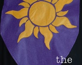 READY TO SHIP Sunshine Banner Tangled Rapunzel Inspired Birthday Flags