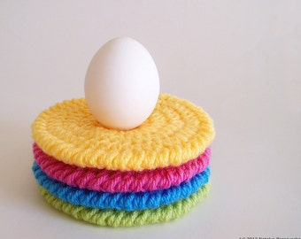 Crochet Coaster Pattern, Easy Crochet Pattern, Crochet Coasters Crochet Pattern, Crochet Patterns, Spring Crochet, Beginner Crochet Patterns