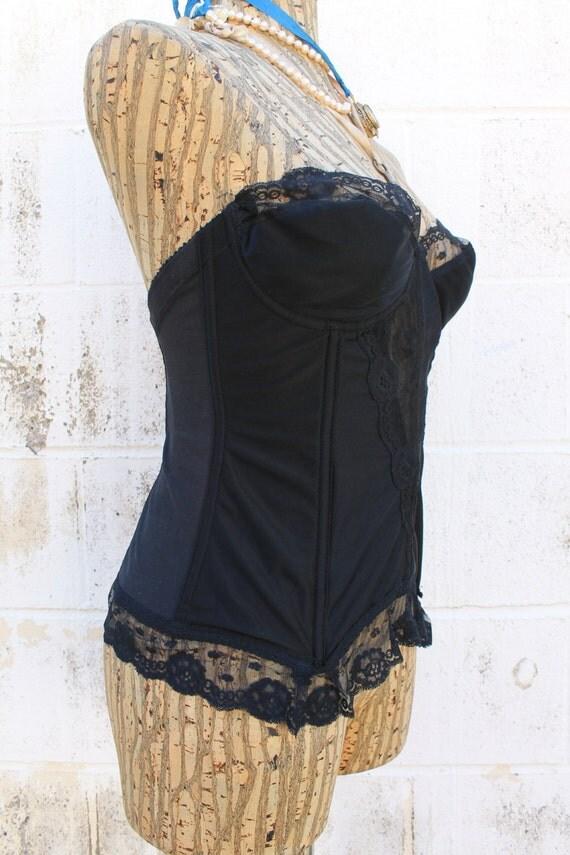 vintage marlene bustier boudoir wedding corset
