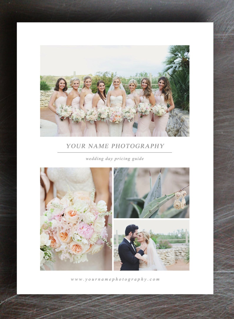 Wedding Photography Pricelist: Wedding Photography Price List Pricing By Designbybittersweet