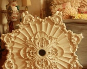 Reserved for Josh Solid Plaster Medallion - Beautifully Intricate!