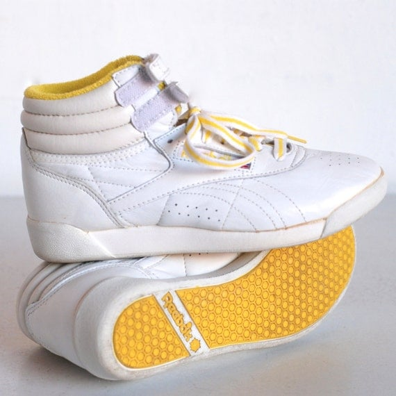 vintage reebok shoes high tops tennis