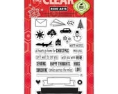 Hero Art's Mix and Match Messages stamp set