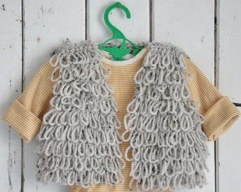 patroon wood & wooly babyvestje