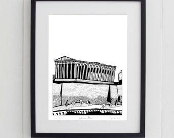 Parthenon, Athens Print