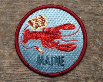 MAINE Patch 3-3in