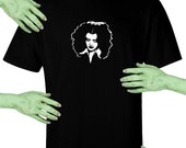 Voodoo Sugar Rocky Horror Picture Show Magenta Men's Black t-shirt Plus Sizes Available