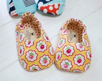 no 598 Delaney Baby Shoes PDF Pattern