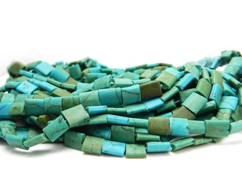 Afghanistan Turquoise Beads, Hand Cut Natural Turquoise Beads, Afghani Turquoise, Tribal