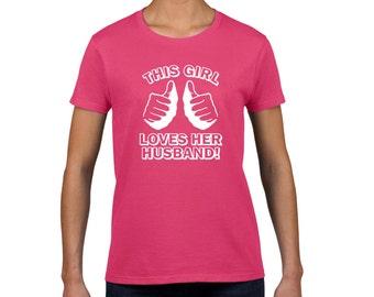 Wifey Tshirt - Wifey Hubby tshirt - Honeymoon Shirts - Hubby Wifey t shirts - Wifey Shirt - Just Married Shirt - Wifey Hubby tshirts