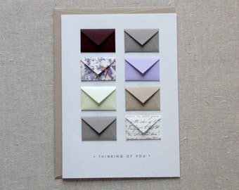 Thinking of You - Tiny Envelopes Card