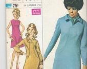 Vintage 1968 Pattern Simplicity 7849 Size 16 Bust 38