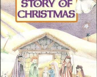 Your Childs Personalized Story Of Christmas Book Gift Religious Ships PRIORITY MAIL in 24 hours