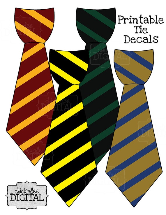 It's just an image of Revered Harry Potter Tie Printable
