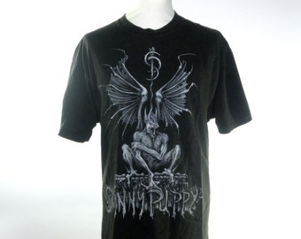 1992 Skinny Puppy Last Rites World Tour Tee