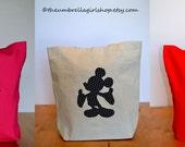 Canvas Tote Bag for Disney Autographs