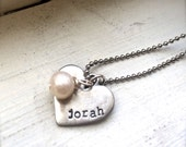 Add a Freshwater Pearl - Perfect Addition to your Necklace