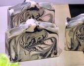 The PERFECT MAN Handmade Cold Process Soap with Jojoba, Hemp, Argan, Wheatgerm, Shea, Cocoa and Mango Butters