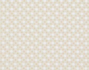 Vanilla Dim Dots - Michael Miller Fabrics