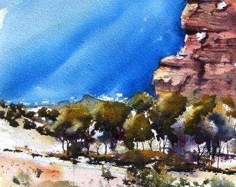 Canyonlands VI - Original Watercolor Painting