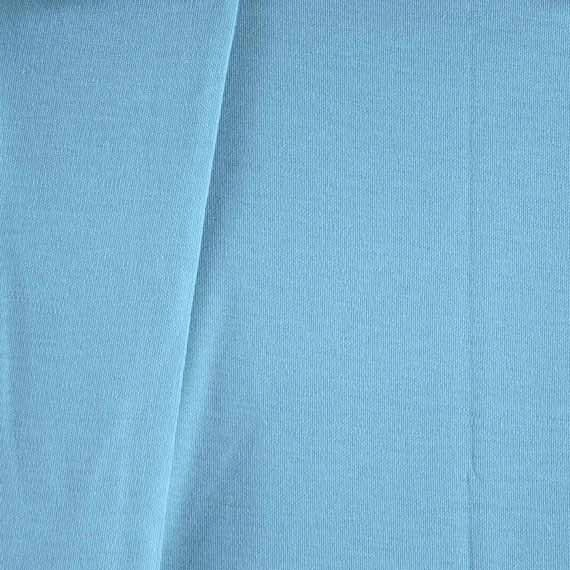 Circular Knitting Fabric : Jersey knit circular fabric light sky blue by dartingdogfabric
