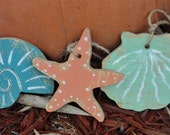 RESERVED For CATHY POULOS  4 Starfish Tags