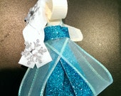 Elsa Ribbon Sculpture Hair bow