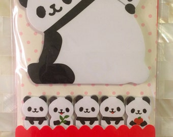 Panda bear Sticky Post It Memo Note Pad 120 sheets SS292