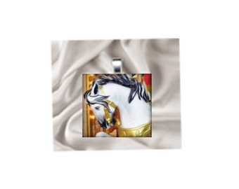 Pendant Necklace Carousel Horse