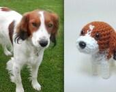 Custom Stuffed Animal Crochet Dog Plush Amigurumi Puppy / Made to Order