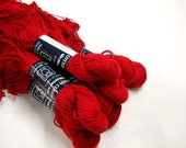Cotton Classic Yarn, Made in Greece for Tahki Imports, 2 Skeins, Knitting Supplies