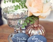 Guest Book Stones - 100 Wishing Stones - Guest Book Alternative - Unpolished