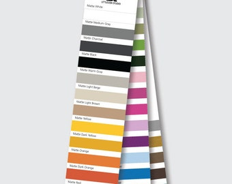 Color Chart Swatches for Wall Decals