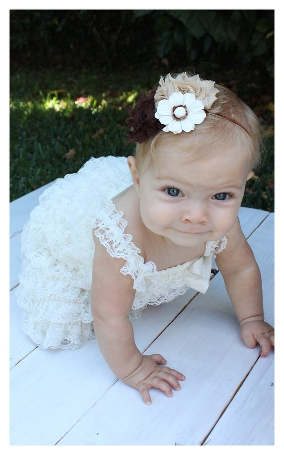 Baptism flower girl wedding party dress infant toddler child