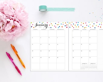 Half Page Calendar 2015 Printable Free   New Calendar Template Site