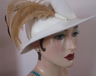 Late 1940's Fedora Hat, Michael Howard, Ruth Alan
