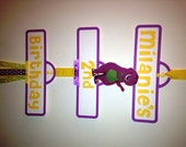 Barney Party Sign