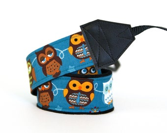 DSLR Camera Strap - Owl Gifts - Padded Camera Strap - Camera Neck Strap - Gifts for Photographer Birthday - Binocular Strap - Owls
