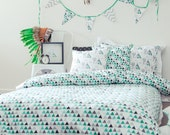 Storm Single bed quilt cover, twin bed duvet cover