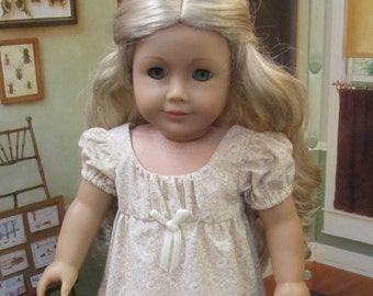 18 Inch Doll Clothes for American Girl Dolls - A Sunday Dress for Caroline or Josefina