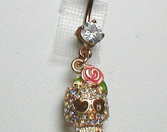 Unique Belly Ring - Trendy Skull