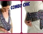 Stylish & Unique necklace/belt in romantic boho chic