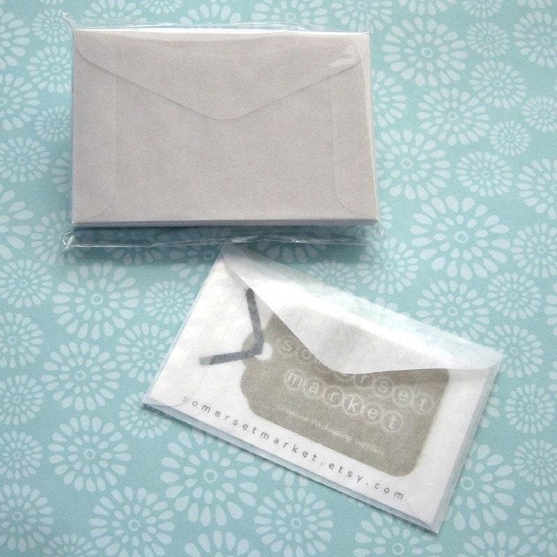 100 Mini Glassine Envelopes 3 5 8 X 2 5 16 Inches Business